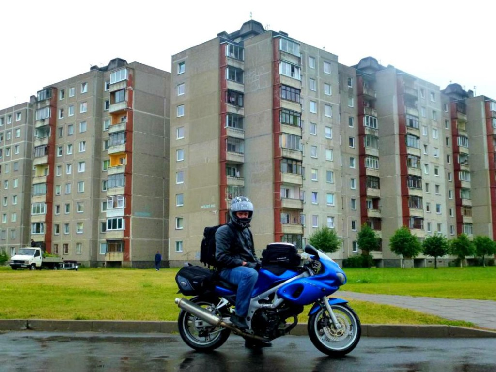 Via Baltica with motorbike